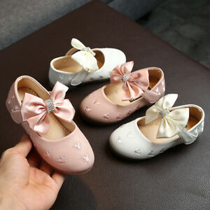 Girls Toddler Diamond Princess Party Dress Shoe Child Baby Casual Walk Shoes