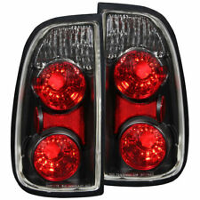 Anzo USA Euro Taillights Black for Toyota Tundra 2000-2006