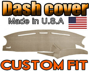 Fits 1999-2003 FORD  WINDSTAR  DASH COVER MAT  DASHBOARD PAD  / BEIGE