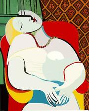 Le Rêve Pablo Picasso Series Movie Poster Canvas Premium Quality