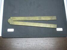 ancien pied du roi roy compas de proportion  précision en laiton XVIII ème ?