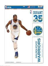 Kevin Durant Golden State Warriors 4 Sticker Decal Badges Set NBA Basketball