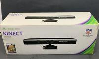 XBOX 360 KINECT SENSOR With Kinect Adventures Games New Unused Open Box FreeShip