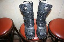 NEW ROCK Herrenstiefel Grau Boots 42