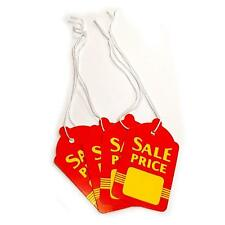 Large Red Amp Yellow Strung Boutique Sale Price Tags 16 W X 27 H Wholesale