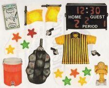 NEW Creative Memories BLOCK STICKER - Soccer Sticker Pack - Score Board, Trophy