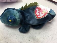 TY Beanie Baby Collection - Iggy (Blue)