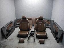 Org Audi A5 S5 8F Cabrio Innenausstattung Leder Sitze braun Sitzlüftung elektris