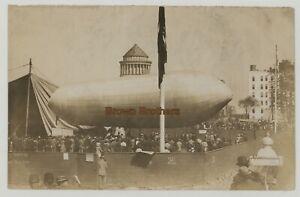 1909 NY Hudson-Fulton Dirigible Race Tomlinson Baldwin Photo & Glass Negative #2