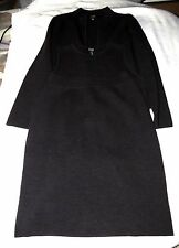 Eileen Fisher Wool 3-Pce Jacket Shell Skirt Outfit Dark Gray Size Petite PM NWT