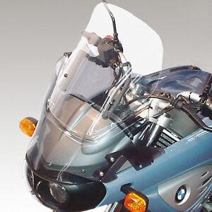 Windschild einstellbar-BMW F650CS Scarver, adjustable Windshield, Bulle, hoch