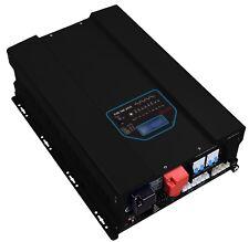 4000 watt 4KW (12KW peak) 24V 120/240V AC Split Phase Pure Sine Inverter Charger