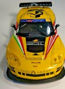 SCX Chevrolet Corvette C6R Tutumlu GT Open #6 w/ lights Digital 1/32 Slot Car