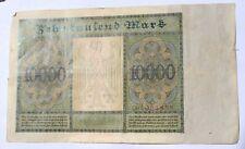 1922 Berlin Germany, 10,000 Mark Reichsbanknote