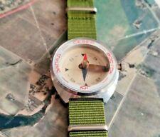 Vintage Compass KN-1 (КН-1) Vostok Wrist Steel Chistopol factory USSR Soviet