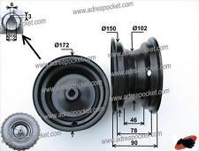 Jante arrière pour pneu 13x5.00-6 Pocket Quad 47/49cc