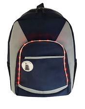 Boys - Flashing LED Backpack School Gym Bag