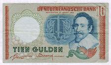 BILLET de BANQUE.PAYS-BAS.10 GULDEN Pick n° 85 du 23-3-1953 en TTB 1 GN 089949