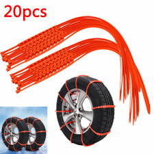 20Pcs Car Truck Anti-skid Chains For Snow Mud Wheel Tyre Tire Ties Nylon Cables