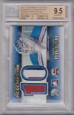 11-12 ITG Between The Pipes Redemption Toronto Expo Henrik Lundqvist Patch RARE