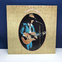 """Vinyl Record LP 12 inch 12"""" case vtg 33 Don Williams I believe you country 1980"""
