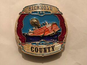 NYPD Richmond county Staten Island 120 Precinct CHALLENGE COIN