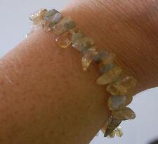 Belle Citrine & Labradorite Crystal guérison bracelet
