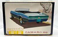AMT 1968 Camaro SS Original Issue 3 in 1 Slot Promo Display Nice 1/25th BOX ONLY