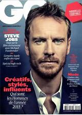 MICHAEL FASSBENDER GQ MAGAZINE FRANCE NEW MAG DECEMBER 2015 STEVE JOBS