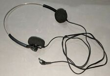 Vintage Sony TRH-1 Stereo Headphones 3.5mm - PERFECT SHAPE! Tested & Working!