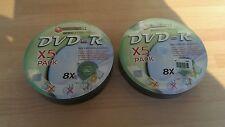 Connect-IT DVD-R grabables Paquete de 5 x24.7 GB 120 Min