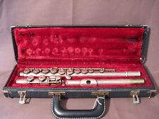 Ancienne flûte traversière Selmer modèle Bundy USA