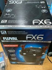 Fluval FX6  A219 Canister filter with media, hose, COMPLETE Bonus Gravel Vacuum