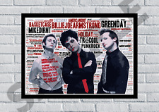 More details for green day rock icons punk rock songs/keepsake/gift/collectable freepost