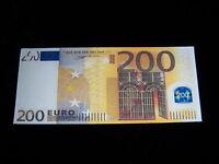 1 Designer Geldbörse Geldscheinfach 200 Euro Schein Portemonnaies Neu Top WoW in