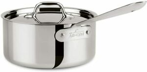 All-Clad 4203 Tri-Ply Stainless-Steel 3-qt Sauce Pan with lid