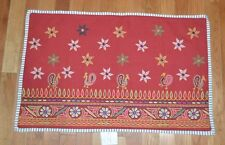 "Pottery Barn Etta Embroidered Pillow Cover Lumbar 16"" x 26 #256"