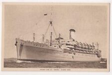 Orient Line S.S. Orion Shipping Postcard, B648