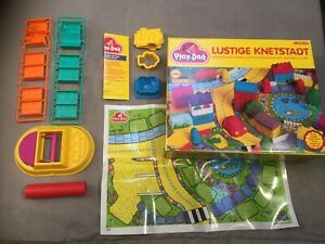 Play-Doh Lustige Knetstadt - Playdoh Formen für Häuser & mehr Tonka 1993
