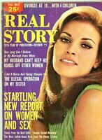 Real Story Magazine 1966 Raquel Welch on Cover Very-Hard-To-Find !   Adultery