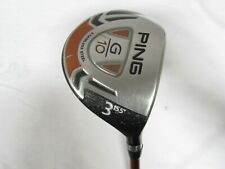 Used RH Ping G10 15.5° 3 Fairway Wood Ping TFC 129 Graphite Stiff-S Flex