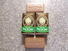 2 Bars of Grandpa's Wonder Pine Tar Soap~125th Anniversary~4.25 Oz.~New!