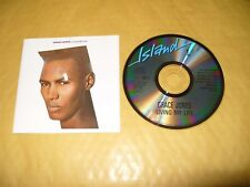 Grace Jones Living My Life 7 Track cd Early Press 1982 Ex Condition