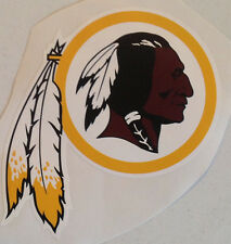 "Washington Redskins FATHEAD Official Team Logo 10"" x 7"" NFL Wall Graphics Decal"