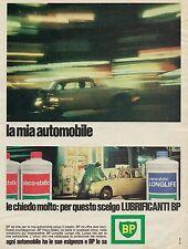 J0602 Lubrificanti BP Visco-static LONGLIFE - Pubblicità - 1967 Vintage advert