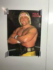 Hulk Hogan Poster 20 x 28 NOS Original Hulkster Wrestling WWF 1985 Wrestler