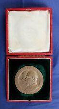 More details for 1902 bronze g frampton coronation medal in case