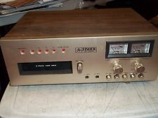 VINTAGE FISHER ER-8110A EIGHT 8 TRACK TAPE DECK RECORDER PLAYER w/BOX READ L@@K*