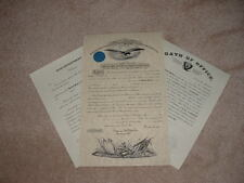 Civil War Union Army Officer Commission Documents with Shoulder Straps (Choice)