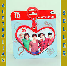 One Direction Heart Clip On - GROUP